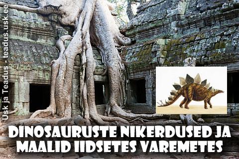 Dinosauruste-nikerdused-skulptuurid-maalid-iidsetes-varemetes-templites