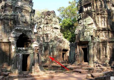Ta Prohm templi nikerdused 1