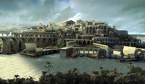 Atlantis-tsunami