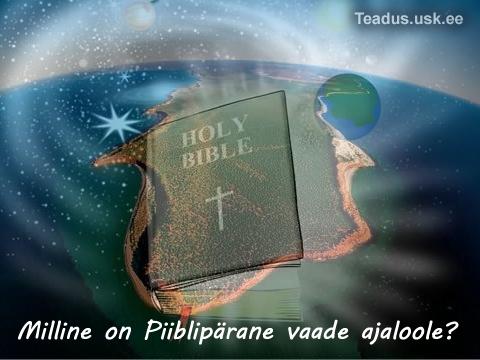 Inimkonna - inimeste - planeedi - ajalugu - piibli vaade
