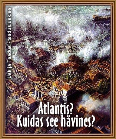 atlantis kadunud linn