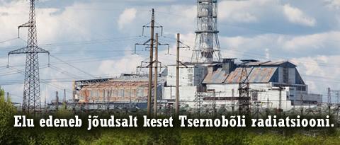 Tsernobõli katastroof radiatsioon