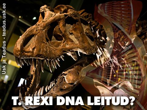 Dinosaurus-T-REX-DNA