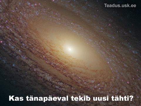 Uute tähtede tekkimine - teke - sünd